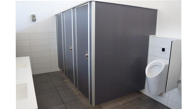 WC-Trennwände - Robert Braun Raumsysteme